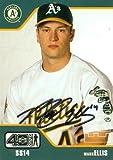 Mark Ellis autographed baseball card (Oakland Athletics) 2002 Upper Deck 40 Man #51