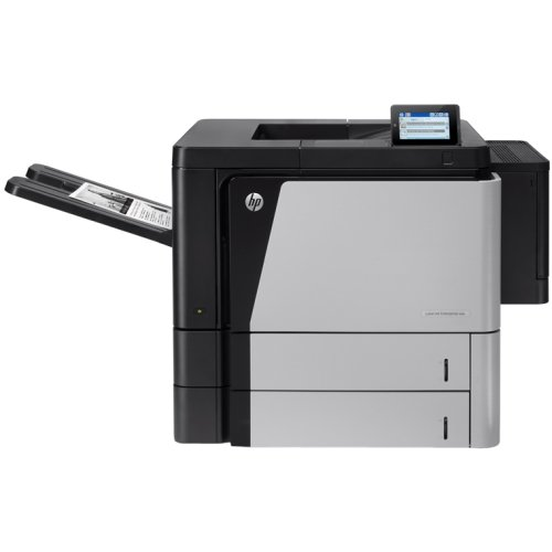 Hewlett-Packard - Hp Laserjet M806dn Laser Printer - Monochrome - 1200 X 1200 Dpi Print - Plain Paper Print - Desktop - 56 Ppm Mono Print - 1100 Sheets Input - Automatic Duplex Print - Lcd - Gigabit Ethernet - Usb - Fih (Foreign Interface Harness)