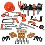 : Black & Decker Junior 62-Piece Deluxe Toy Tool Set