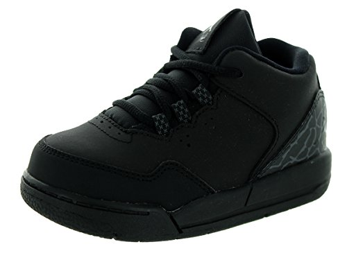 Nike Jordan Toddlers Jordan Flight Origin 2 Bt Black/Black/Dark Grey Basketball Shoe 5 Infants US by Jordan