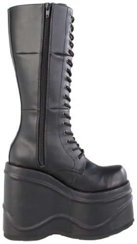 Demonia WAVE-302 Blk Vegan Leather UK 7 (EU 40 )