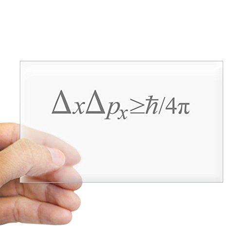 CafePress - Heisenberg Uncertainty Principle Sticker (Rectangl - Rectangle Bumper Sticker Car Decal