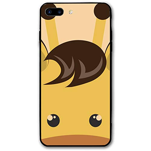 iPhone 8 Plus Case, iPhone 7 Plus Case, Cute Little Giraffe Animal Character Printed Anti-Scratch Compatible for iPhone 7 Plus/8 -