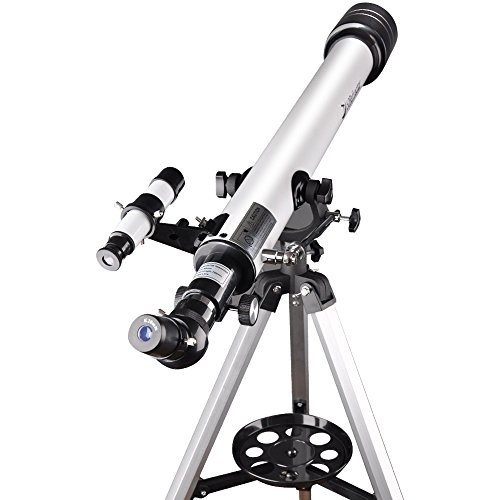 Landove Telescope,60AZ 700mm Travel Scope-Portable Telescope for Beginners and Kids to Observe Moon and View Land-Come with Tripod and 10mm Smartphone Digiscoping Adapter by Landove (Image #4)