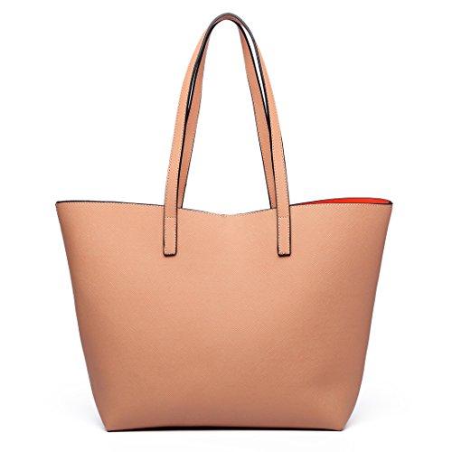 en Miss Tote Lulu Nu Sac Shopper à Set Bag bandoulière Reversible Women Large 6628 cuir Faux nnrZqxH8
