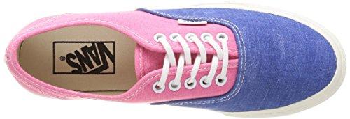 Pink Authentic Unisex Slim U Adulto Multicolore azalea Vans Sneaker qv8Twxnf