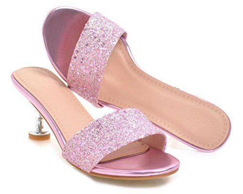 Rose Mules Mules Rose HiTime HiTime Femme Mules Femme Femme HiTime Rose HiTime zqaBP5nw