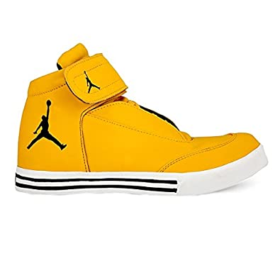 d1bd15908e97 SHOE FAD Men s Yellow Jordan Casual Shoes (7)  Buy Online at Low Prices in  India - Amazon.in