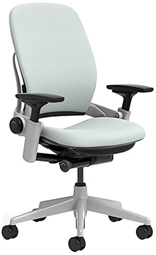 Amazon.com: Steelcase Leap silla con platino Base y piso ...