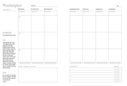 MENTOR Planer ® Lebensziele erreichen mit dem A5 Taschenkalender ...
