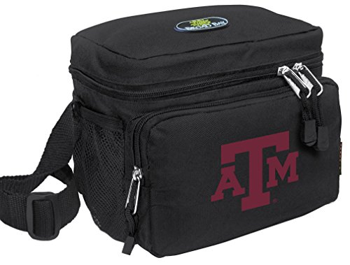 Broad Bay Texas A&M Lunch Bag Official NCAA Texas A&M Aggies Lunchboxes by Broad Bay