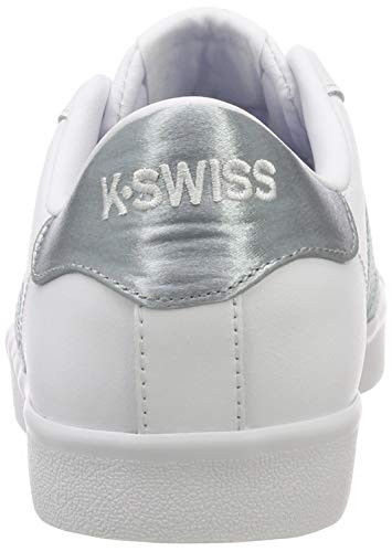 Low So 129 Swiss White Top Women's Mist Sneakers Gray White Belmont K wTIpqoMot