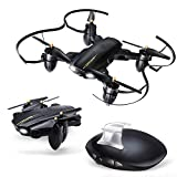Drone with Camera, JoyGeek FPV RC Drone with Gravity Sensor Optical Flow Hand Gesture Camera 2.4GHz 4CH 6-Axis Gyro Quadcopter Altitude Hold, Headless Mode, 3D FILP for Adults and Beginners