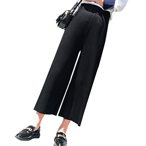 熟練したキリスト多数のワイドパンツ 9分丈 ガウチョパンツ スカンツ スカーチョ 夏 パンツ 着やせ ルーズ ワイドボトム