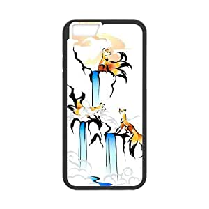 "JenneySt Phone CaseFunny Fox For Apple Iphone 6,4.7"" screen Cases -CASE-7"