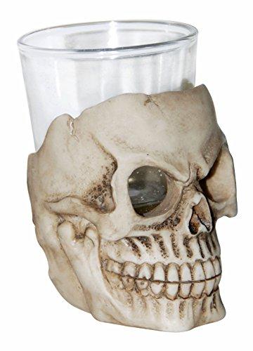 Skeleton Skull Shot Glass Halloween Drinkware