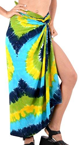 ropa de playa traje de baño falda envoltura pareo cubierta hasta trajes de baño para mujer desgaste piscina pareo ropa de playa traje de baño verde azul de oro
