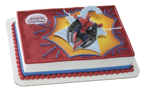 (Web Spinner DecoSet Cake Decoration)