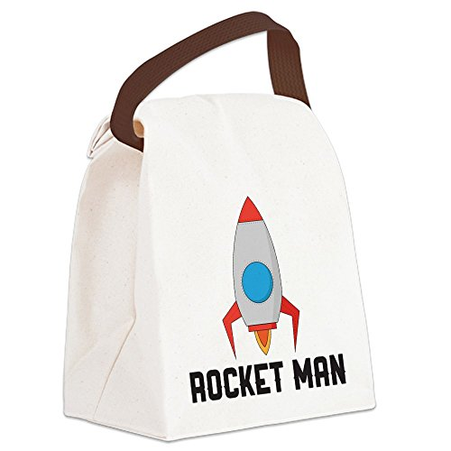 - CafePress - Rocket Man - Canvas Lunch Bag with Strap Handle