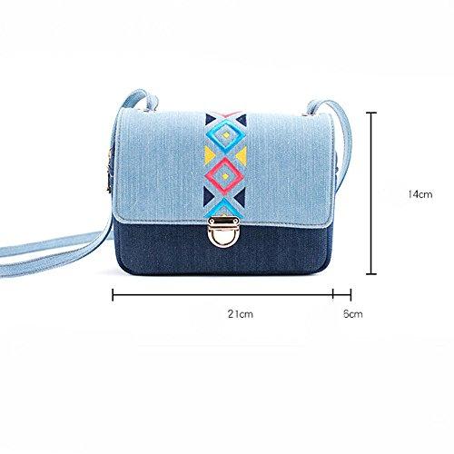 Simple Sac Mini De National Paquet Carré GAOQQ Femelle Style Petit Diagonale Loisirs Sac Broderie De De wqfTvg