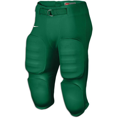 Men's Nike Defender Game Football Pant Dark Green White Size XXL