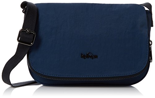S Earthbeat C Blue Kipling Bag Womens Satin Body Cross Blue EZnwfxqS