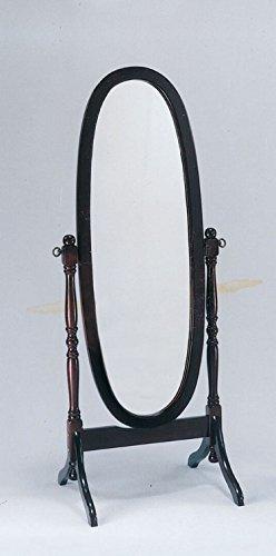 major-q 909711960' de alto acabado en cerezo joyería Armoire de almacenamiento de clóset con cerradura de pie Cheval...