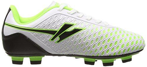 Gola Ion Blade - Zapatillas de fútbol Niños Blanco (White/Lime)