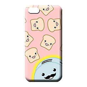 iphone 4 4s phone back shells With Nice Appearance Impact phone Hard Cases With Fashion Design kawaii bread