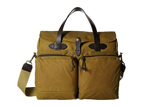(Filson Men's 24 Hour Briefcase, Dark Tan, One Size)