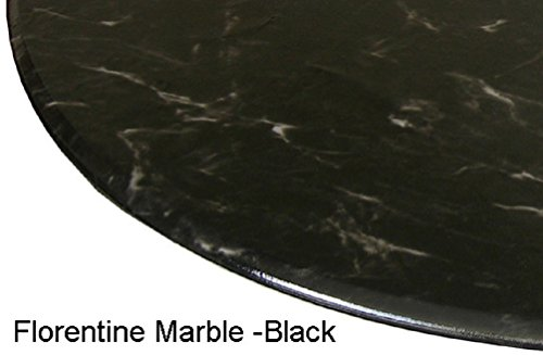 Florentine Black Finish (Table Cloth Round 36