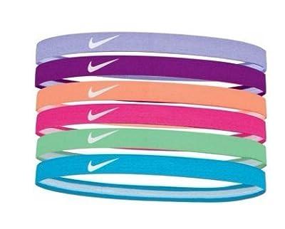 Nike Printed Headbands Assorted (Hydrangeas/Vivid Purple)