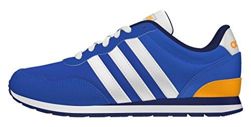 adidas V Jog K, Zapatillas de Deporte Para Niños Azul (Azul / Ftwbla / Dorsol)
