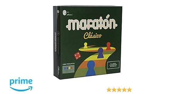 Amazon Com Classic Marathon Board Game Original Version Maraton