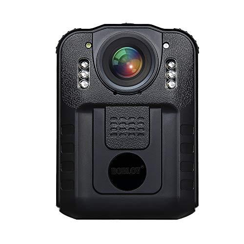 BOBLOV WN9 Body Camera 1296P IR Night Vision Rotatable Clip 170 Degree Wide...