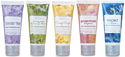 La Natura Juicy Shea Butter - Natural Inspirations Ultra Hydrating Hand Creme Gift Set - Variety Pack (5)