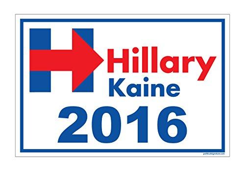 Imagine This YY7685 Yard Sign (Hillary Kaine 2016)