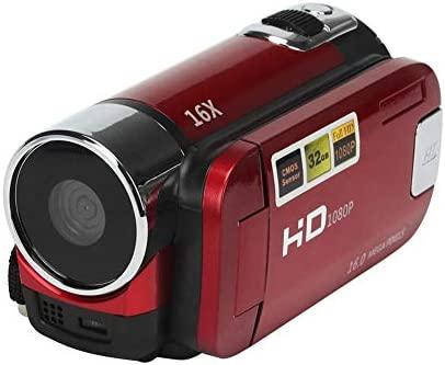 Kitabetty Cámara De Video, HD 1080P 16M 16X Zoom Digital Cámara De ...