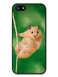 Hang in There Baby Hamster Animal Cute Inspirational Case For Ipod Touch 4 Cover