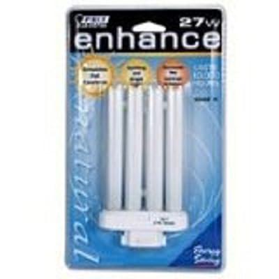 Feit Electric Bppl27f/65 27 Watt Daylight 4 Pin Compact Fluorescent Light Bulb by Feit Electric