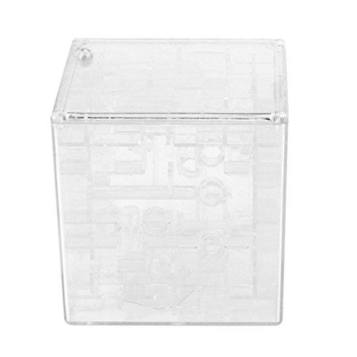 OVERMAL New 3D Cube Puzzle Maze Toy Hand Game Case Box Fun Brain Game Challenge Fidget (Brain Ninja Turtles Costume)