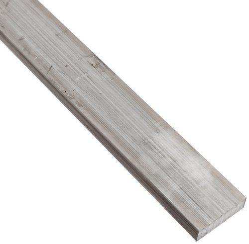 2024 Aluminum Rectangular Bar, Unpolished (Mill) Finish, T351 Temper, Meets ASTM B211, 1