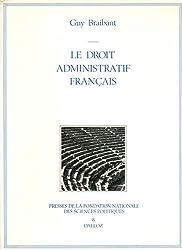 Le droit administratif français