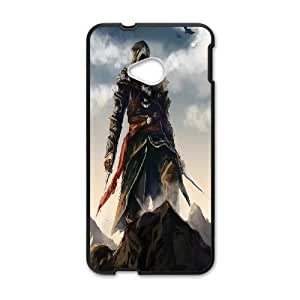 HTC One M7 Phone Case Black Assassin's Creed II ZCC595531