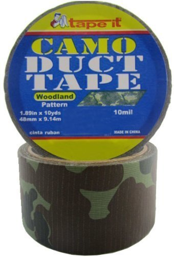 Camouflage Print Duct Tape by Tape-It