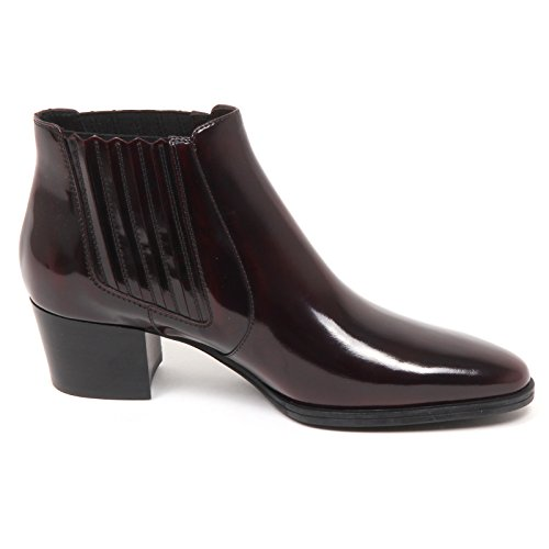 Donna Scuro Tronchetto Shoe Woman Tod's Scarpe Boot Bordeaux E2952 zgWEfw