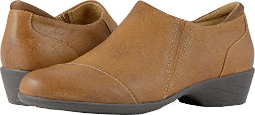 SoftWalk Women's Charming Ankle Bootie, Luggage, 7.5 N US from SoftWalk