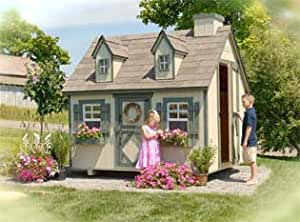 Cape Cod Playhouse 6 x 8 With Floor Kit