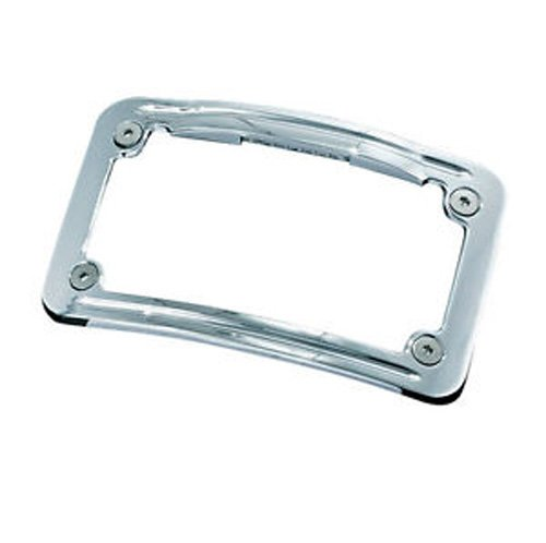 - Kuryakyn 3144 Curved Lighted LED License Plate Frame