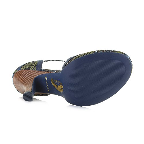 Bar Ruby T Size Blue Shoes Polly Shoe Navy Green Womens Jungle Yellow Heels zwRdnHq